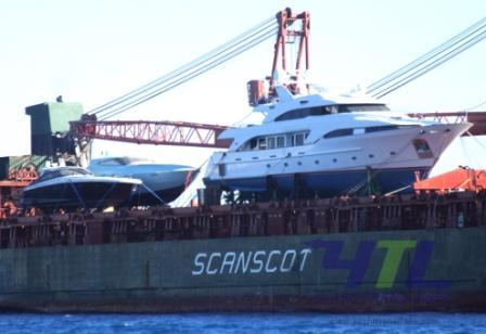 Yacht shipping