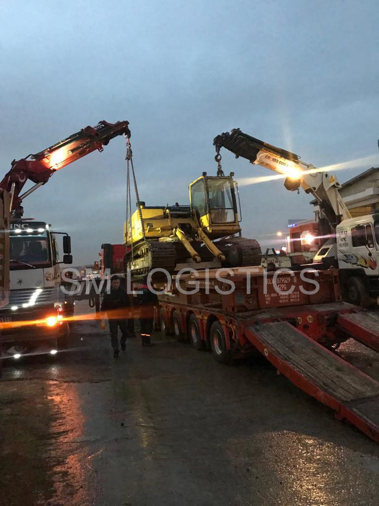 Loading Excavator