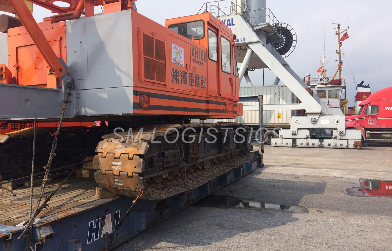Crane-Hitachi KH180